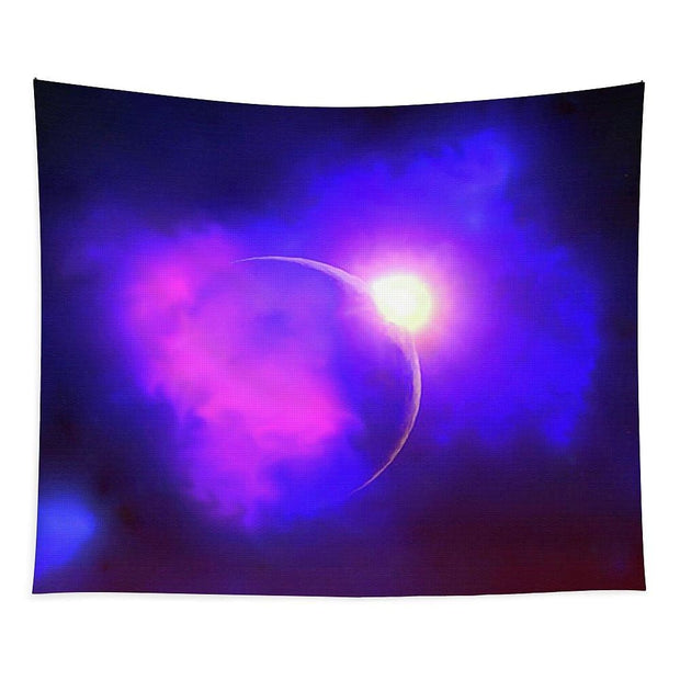 Cloud Moon  - Tapestry by Don White - Art Dreamer