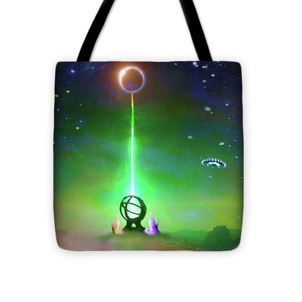 Energy Exchange - Tote Bag by Don White - Art Dreamer