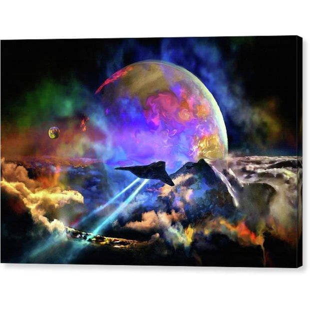 Fly-by - Canvas Print by Don White - Art Dreamer