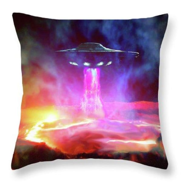 Fuel Stop - Throw Pillow by Don White - Art Dreamer