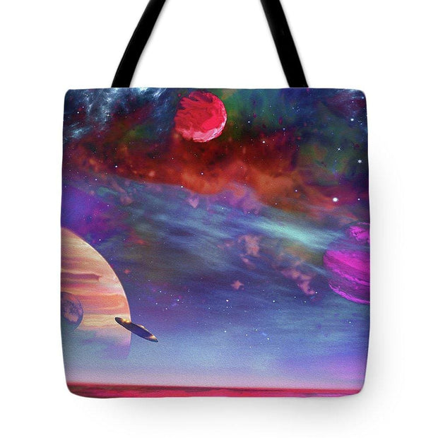 New Planet Geo-mapping - Tote Bag - 18 x 18 - Tote Bag