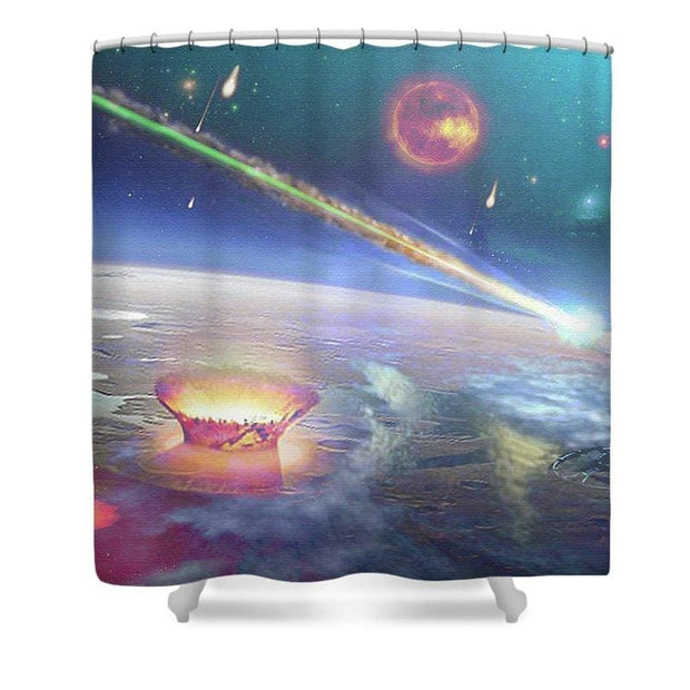 Restless Planet - Shower Curtain - 71 x 74 Standard - Shower Curtain