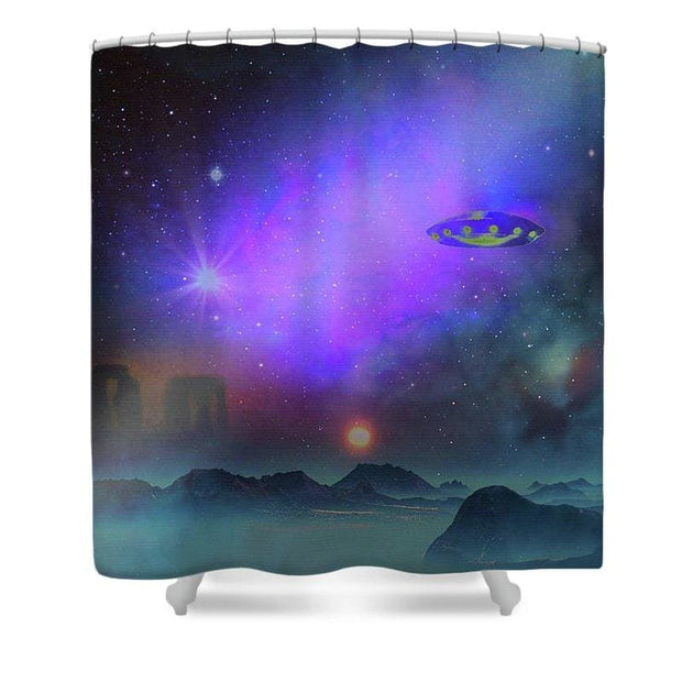 The Stonebuilders - Shower Curtain - 71 x 74 Standard - Shower Curtain