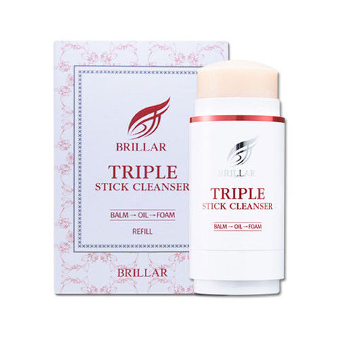 BRILLAR Triple Stick Cleanser Refill - 50g