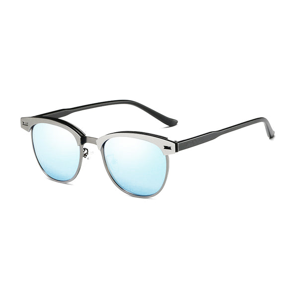 U022 Blue Clubmaster Sunglasses
