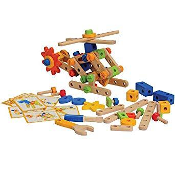Wooden Nuts and Bolts Builder - louisekool