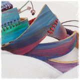Ombre Leather Bracelet Cuffs