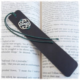 Handmade Engraved Leather Bookmark