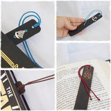 Personalized Leather Bookmarks