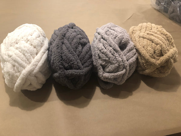 Hand Knit Chunky Blanket Throw Workshop- June 23