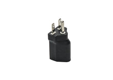 120V to 240V Plug Adapter for Grow Light Fixtures NEMA 5-15P to NEMA 6-15P - GrowPower