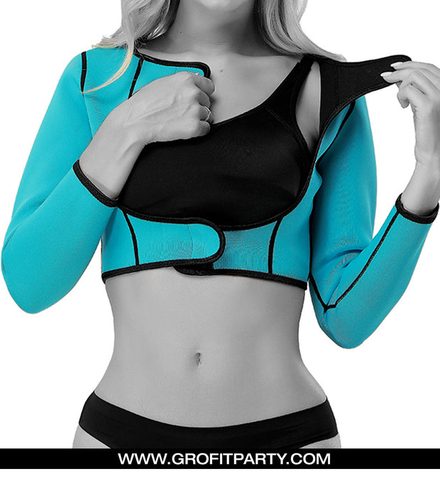 Drench Sauna Crop Top