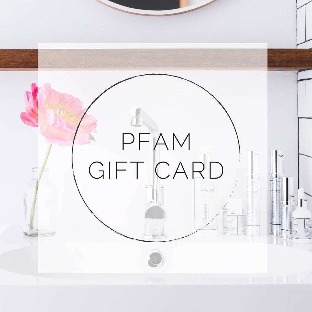 Perfect Face Aesthetic Medicine PFAM Gift Card