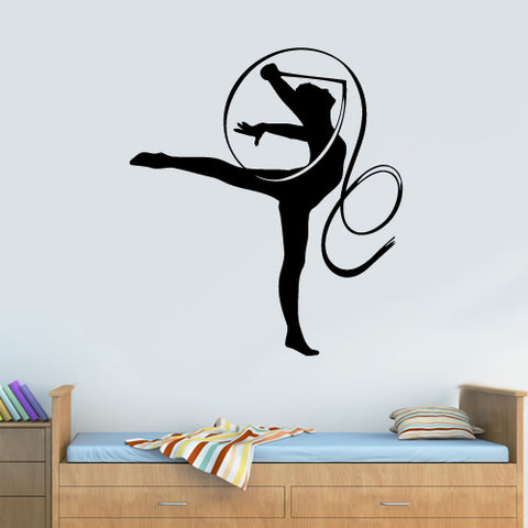 Wall Decal Vinyl Decal Sticker Nursery Kids Baby Ballet Ballerina Gymnastics   z3144
