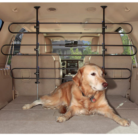 Solvit QuickConnect Tubular Car Barrier - Hunter K9 Gear