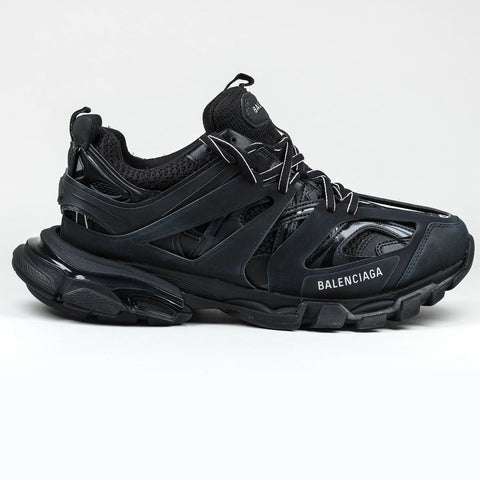 Balenciaga Track Leather And Mesh Sneaker Triple Black