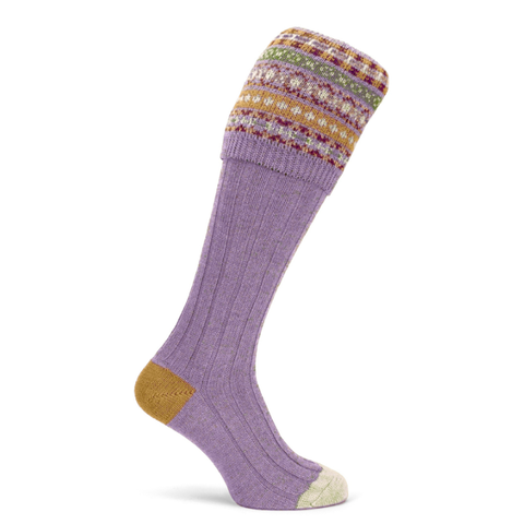 Byron Shooting Sock - Cherry