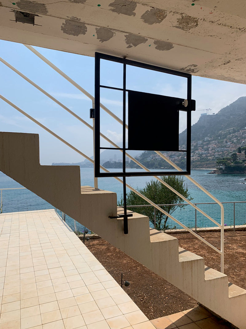 Tracey Neuls in the Le Corbusier Eileen Grey House in Nice, France