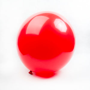 Red Round Balloons - 24""