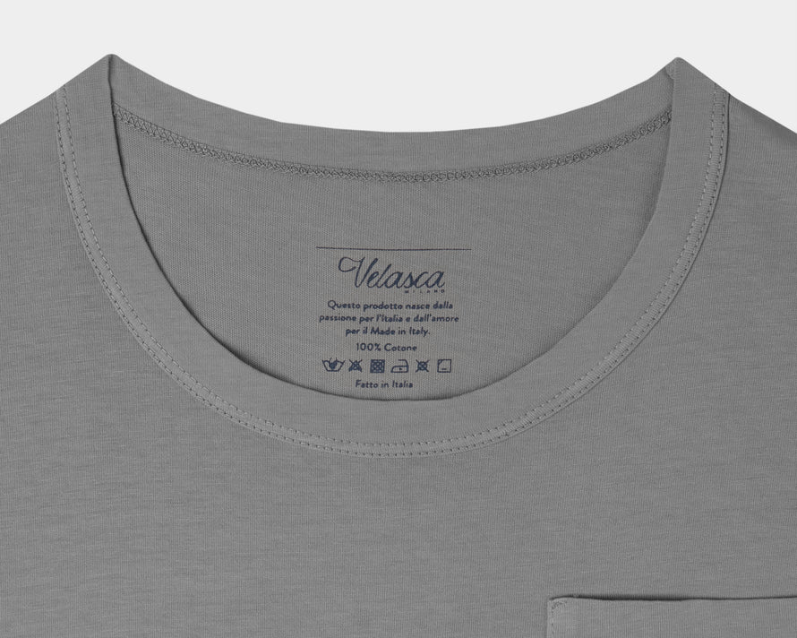 Velasca Gugin Dark gray 100% cotton