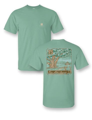 """12 Gauge"" Comfort Colors Short Sleeve Pocket Tee"