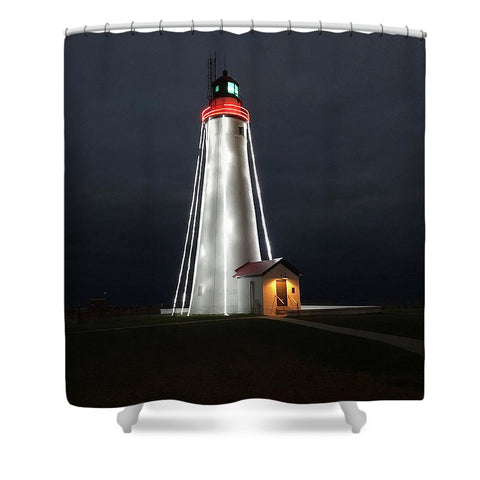 Fort Gratiot Lighthouse - Shower Curtain