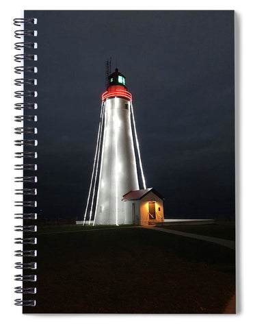 Fort Gratiot Lighthouse - Spiral Notebook