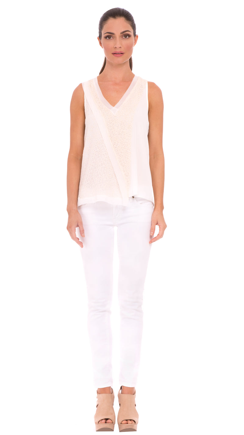 Z Emma Asymmetrical Top