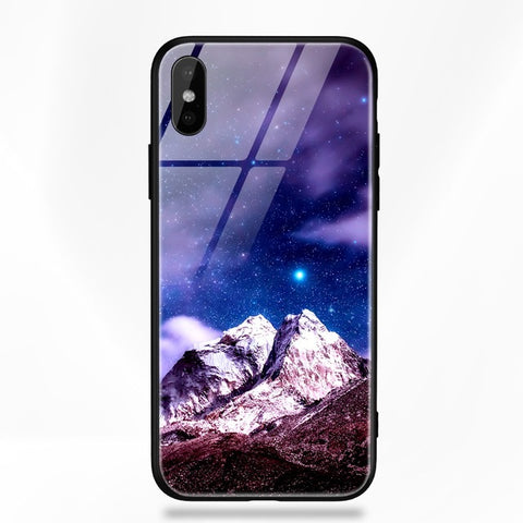 Mountains - Case For iPhone 8 7 6 6s Plus X Luxury Case Silicone
