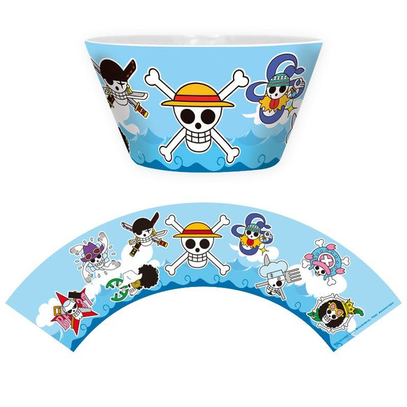 Ciotola - One Piece - Bowl - 460 Ml - Mugiwara Skulls