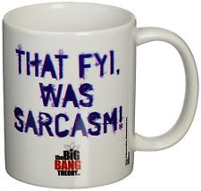 Tazza - Big Bang Theory (The) - That Fyi Was Sarcasm