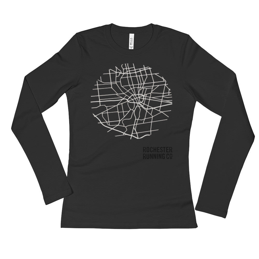 Women's Roc Map Long Sleeve T-Shirt