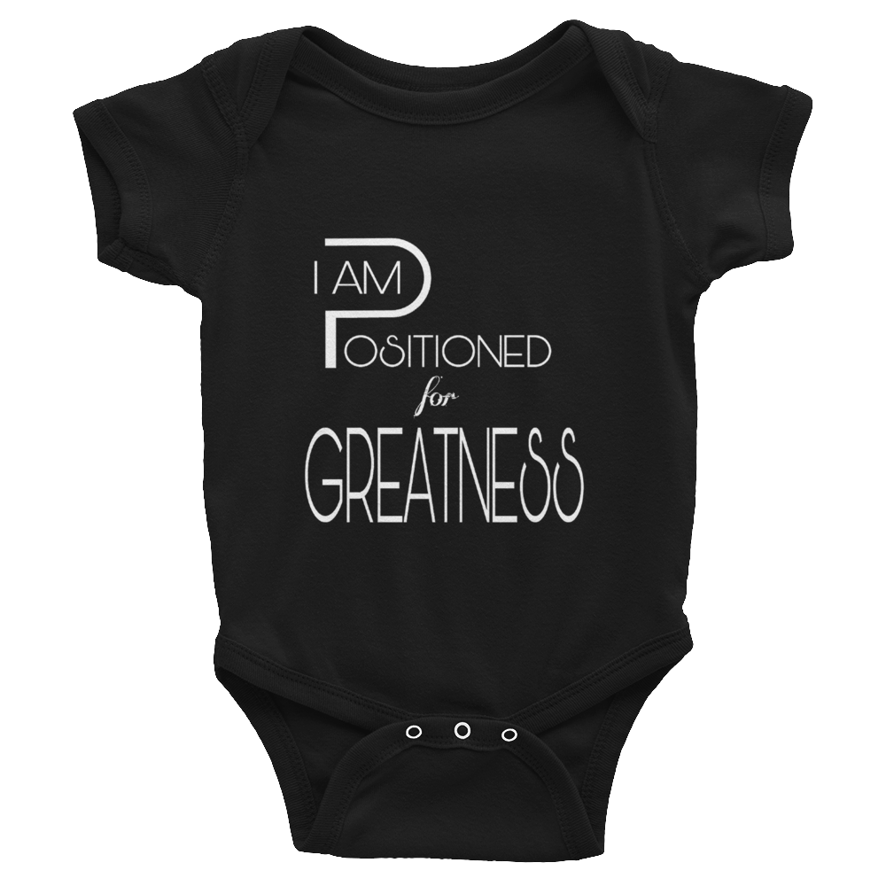 Positioned - Unisex Infant Onesies - Be Ye AWARE Clothing