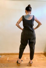 Black Crane Overall / Charcoal