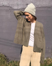 Lauren Manoogian Normal Cardigan / Light Olive