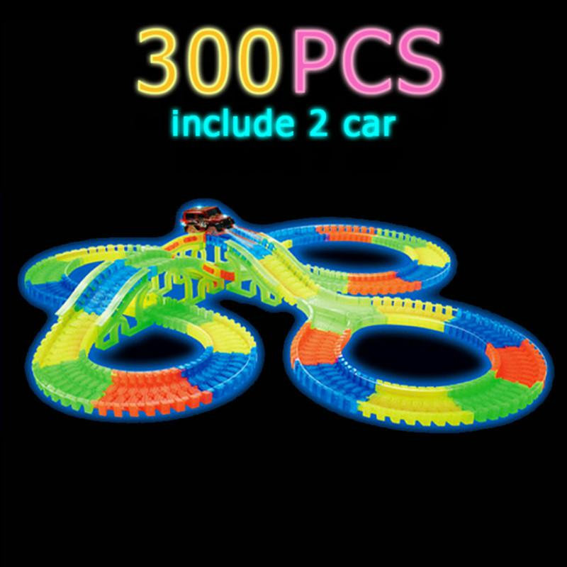 LED Glow Racing Tracks and Cars - Mini Chic Outlet
