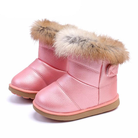 Image of Baby Uggs Comfy Snow Boots for Infants - Mini Chic Outlet