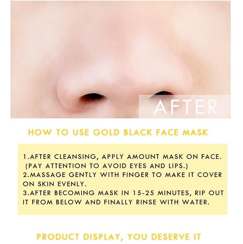 Gold Face Mask -  Blackhead Remover - Mini Chic Outlet