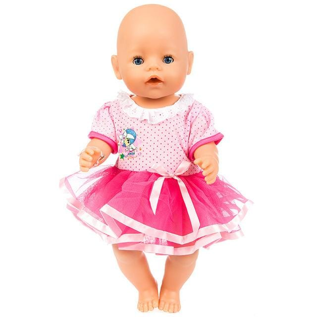 Baby Doll With Unicorn Clothes - Baby Boy And Baby Girl Doll - Mini Chic Outlet