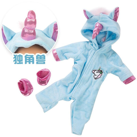 Image of Baby Doll With Unicorn Clothes - Baby Boy And Baby Girl Doll - Mini Chic Outlet
