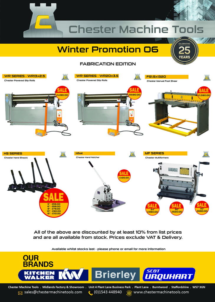 Fabrication Machines - Latest Promotion