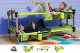 Kid-O-Bunk Green Childrens Mobile Bunk System