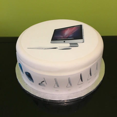 Apple iMac Edible Icing Cake Topper