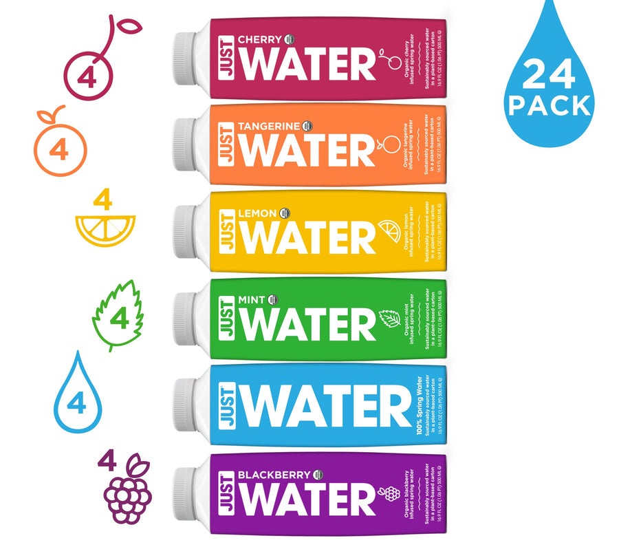 JUST Sampler Pack | 24 Pack - JUST WATER