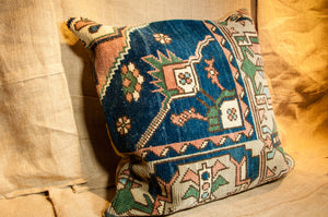 Vintage Carpet Pillow