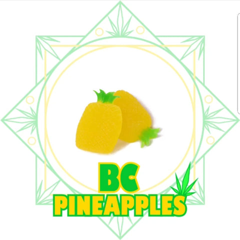 Products By SeC BC Pineapples 2 x 50mg THC