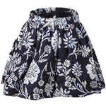 Girls Baby Blue Floral Skirt 100% cotton ages 6 months 2 7 12 years - supercoolgifts