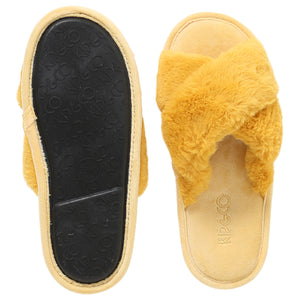 Sunshine Yellow Slippers