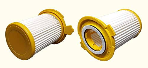 ZVac 2Pk Compatible Filter Replacement for Dirt Devil F-12 HEPA Filter. Replaces Parts# 3KD1680000 & 2-KD1680-000