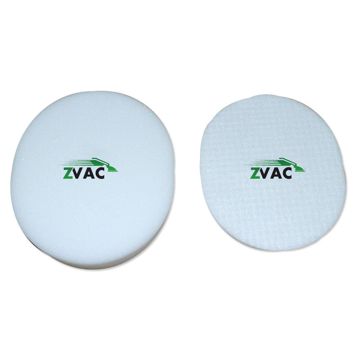 ZVac 1 Shark Navigator NV80 1 Foam and 1 Felt Filter Generic Compatible Replacement EU-18001, XFF80 Fits: Shark Navigator Series UV420, NV90, NV80